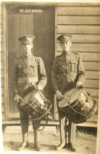 Unknown Drummers of the London Regiment
