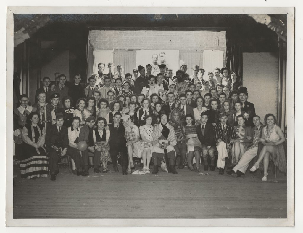 The Eagle Cycling and Social Club Christmas Party in 1941
