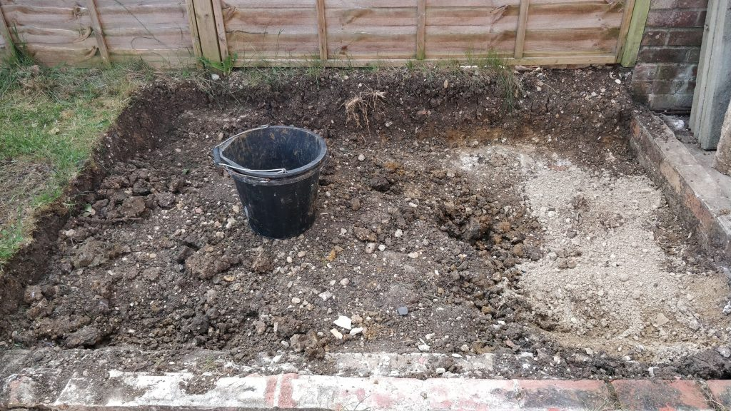 Shed Base 18 May 2020