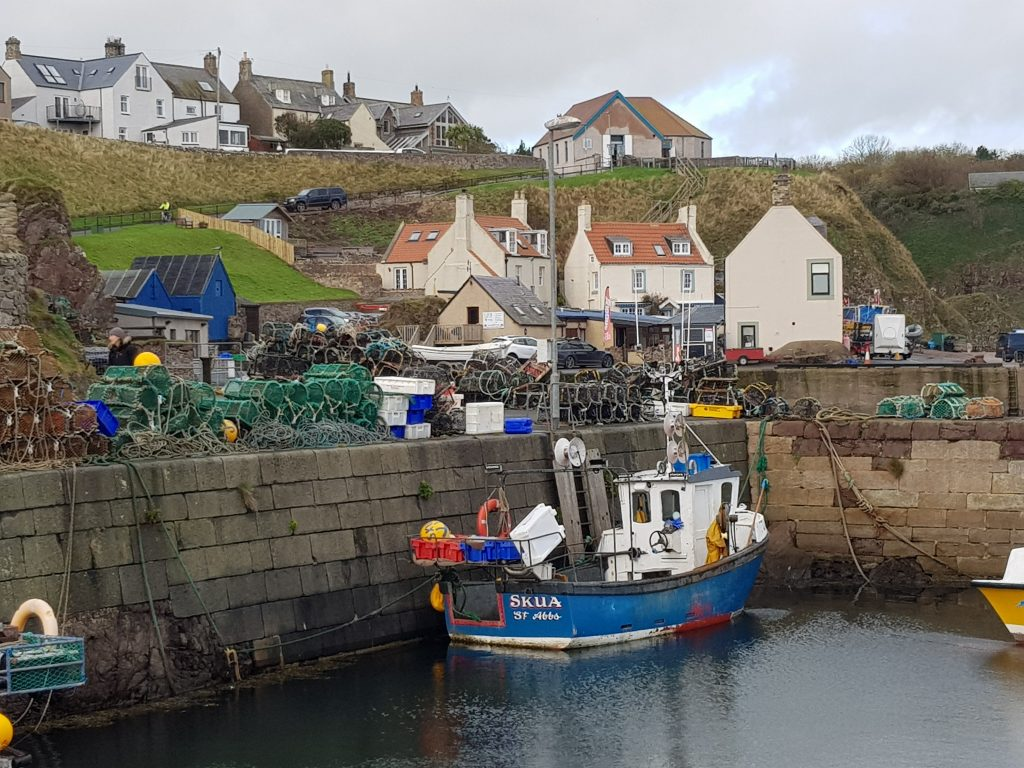 Fishing Boat Skua at St Abbs