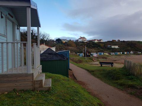 Beach Huts Coldingham Sands