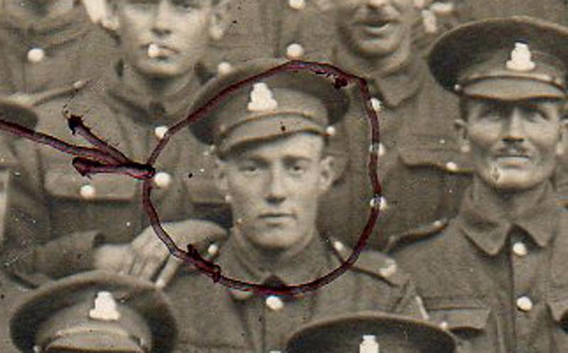 Private Walter Thomas Ewart Harris, copyright John Harris